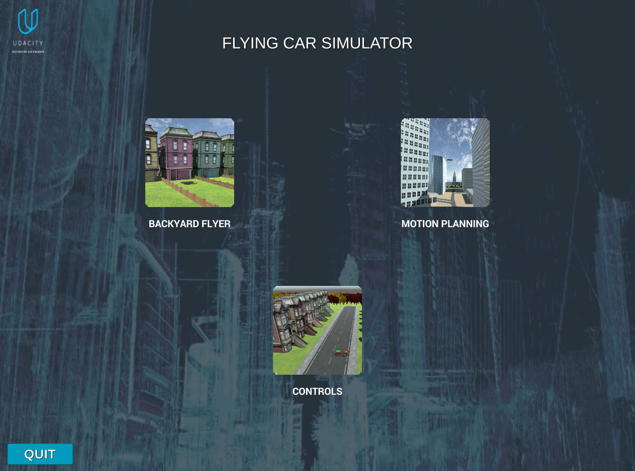 FCND-Term1-P3-3D-Quadrotor-Controller | Udacity Flying Car